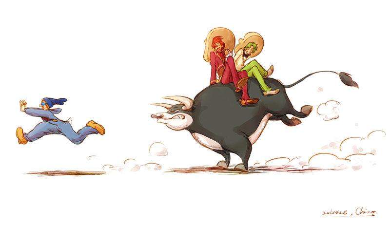 نقاشی ساده کودکانه لاک پشت های نینجا